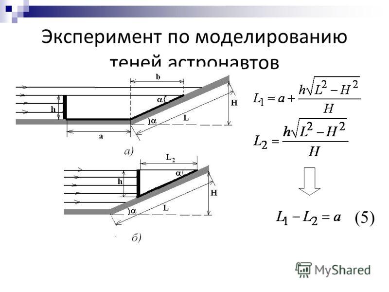 Эксперимент по моделированию теней астронавтов (5)