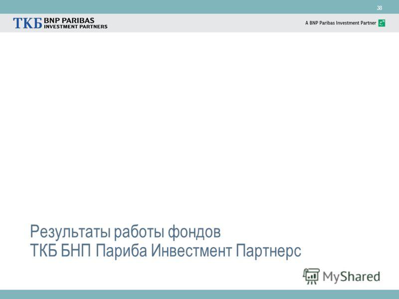 38 Результаты работы фондов ТКБ БНП Париба Инвестмент Партнерс