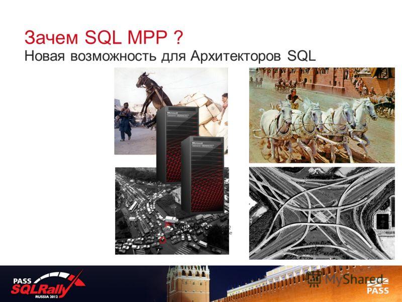 Зачем SQL MPP ? Новая возможность для Архитекторов SQL