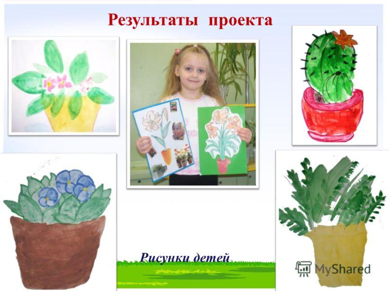 Результаты проекта Рисунки детей