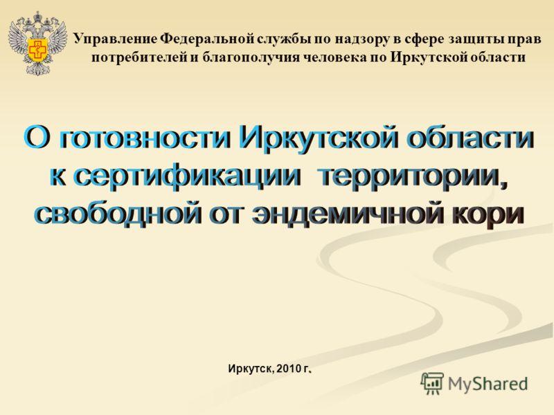 . Иркутск, 2010 г. Управление Федеральной службы по надзору в сфере защиты прав потребителей и благополучия человека по Иркутской области