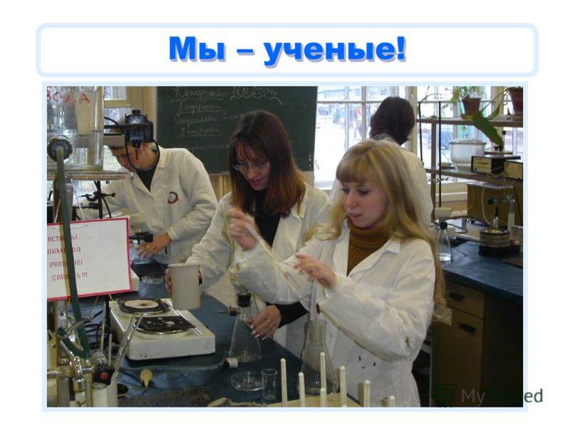 Мы – ученые!