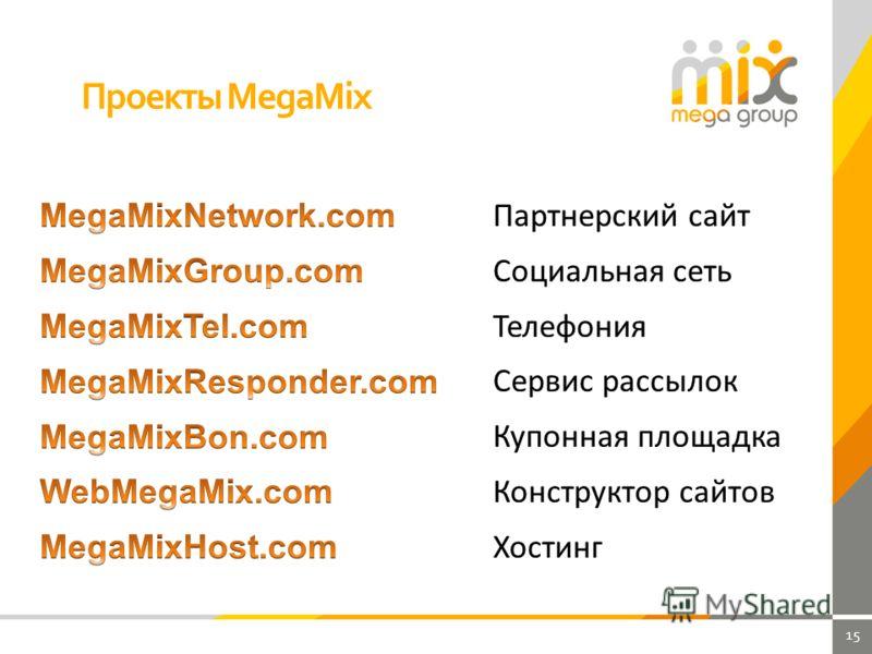 15 Проекты MegaMix