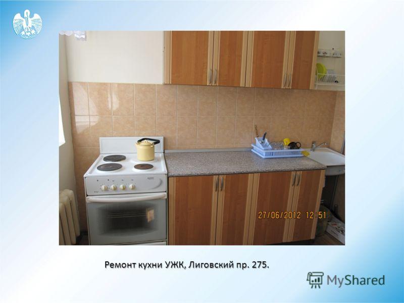 Ремонт кухни УЖК, Лиговский пр. 275.
