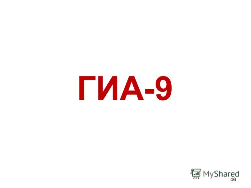 ГИА-9 46