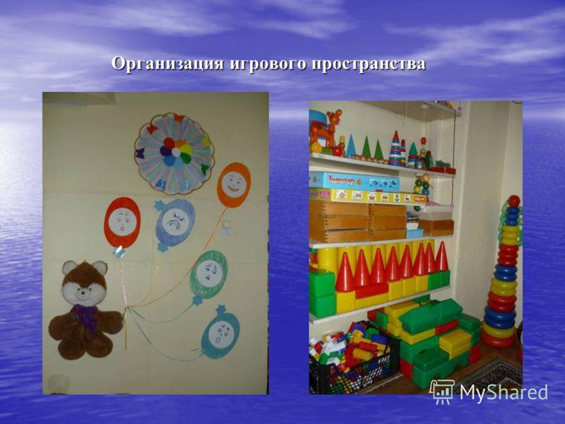 Организация игрового пространства Организация игрового пространства