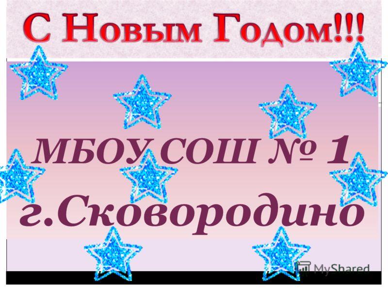 МБОУ СОШ 1 г.Сковородино