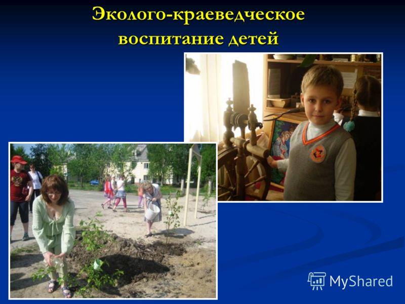 Эколого-краеведческое воспитание детей