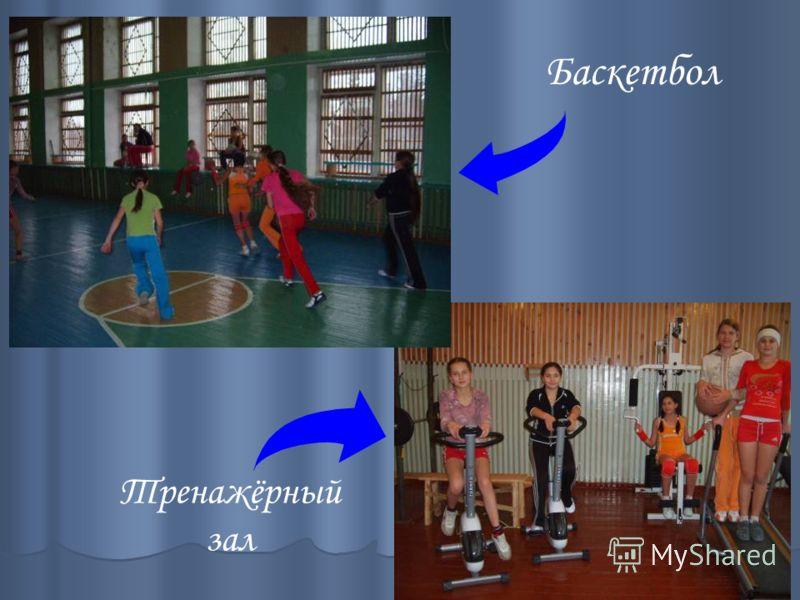 Тренажёрный зал Баскетбол