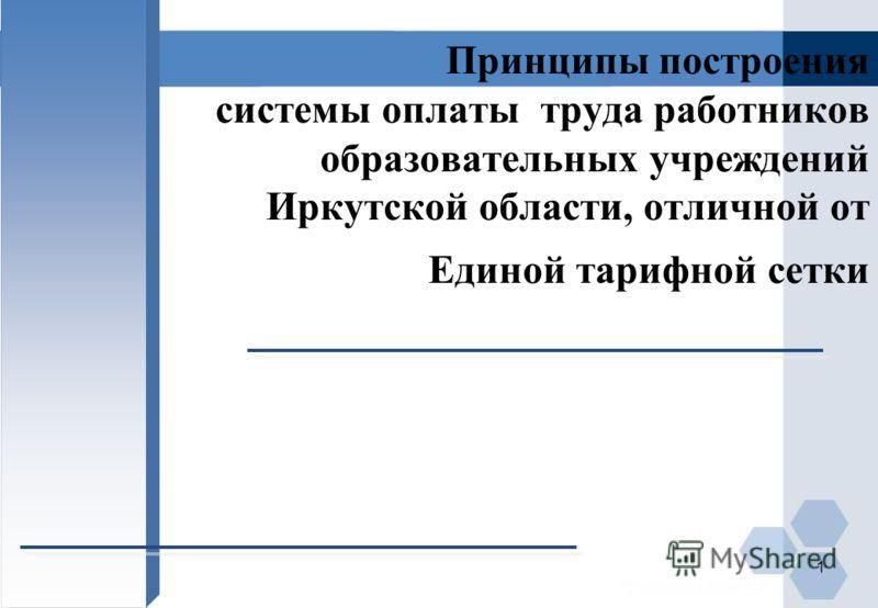 Новые системы оплаты труда в муниципальных учреждениях