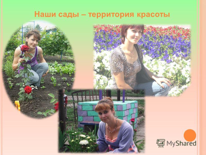 Наши сады – территория красоты