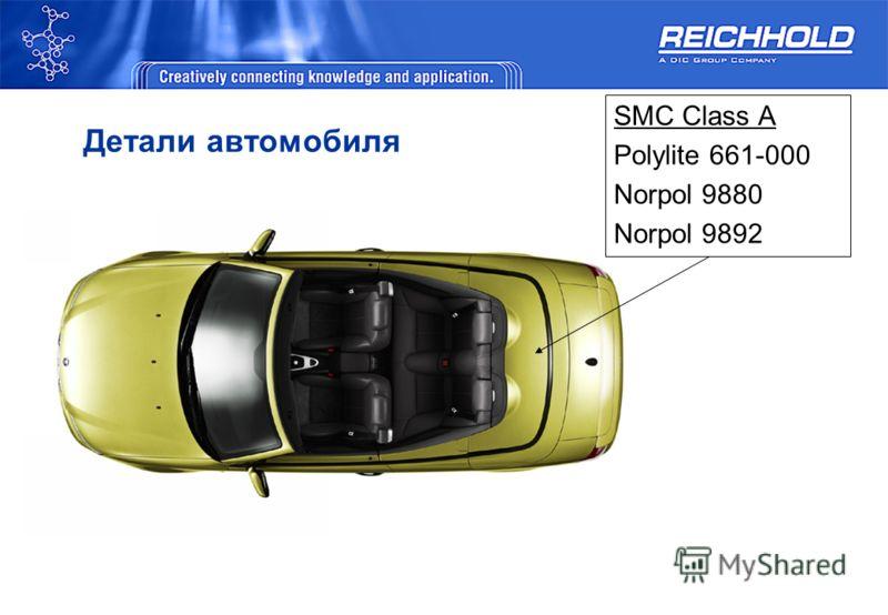 Детали автомобиля SMC Class A Polylite 661-000 Norpol 9880 Norpol 9892