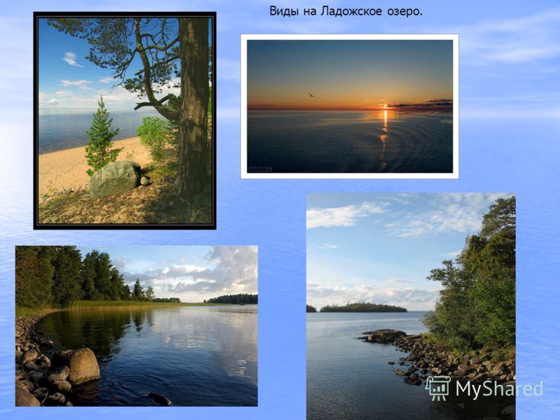 Виды на Ладожское озеро.