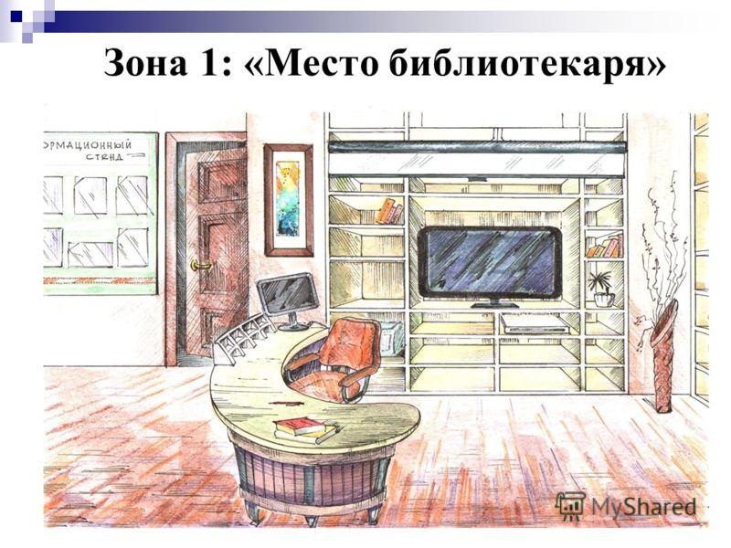 Зона 1: «Место библиотекаря»
