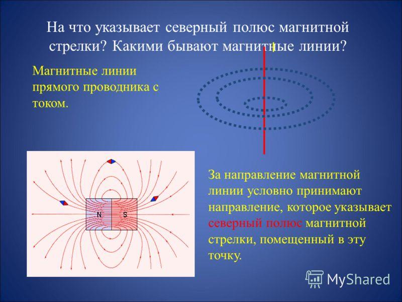 Что нужно знать о магнитных линиях? 1.Магнитные линии – замкнутые кривые, поэтому МП называют вихревым. Это означает, что в природе не существует магнитных зарядов. 2.Чем гуще расположены магнитные линии, тем МП сильнее. 3.Если магнитные линии распол