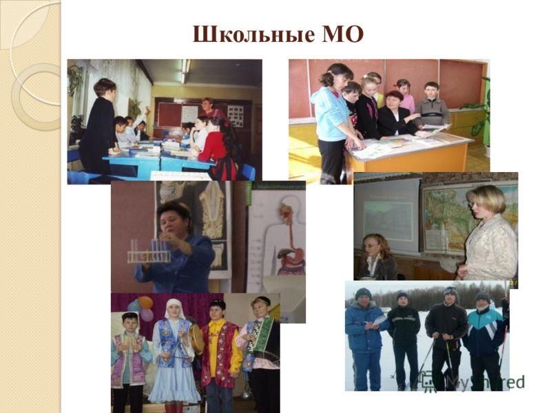 Школьные МО