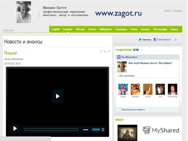 www.zagot.ru