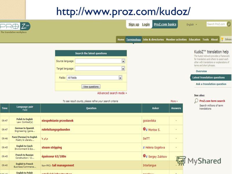 http://www.proz.com/kudoz/