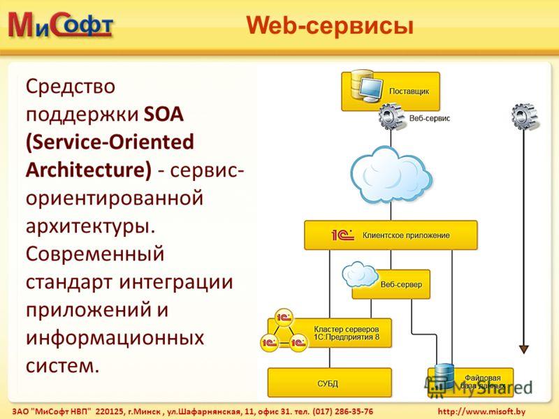 Web-сервисы ЗАО