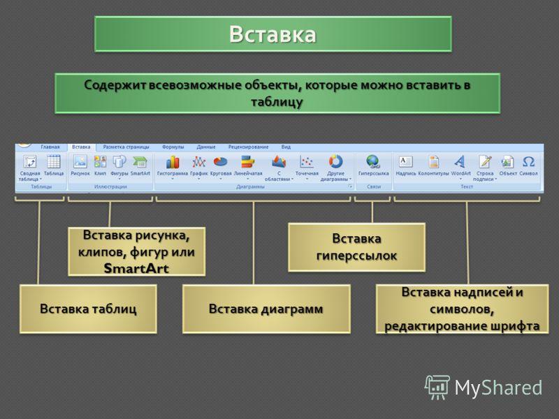 Использование объектов из подвкладки « Найти и выполнить » на практике Адреса найденных объектов