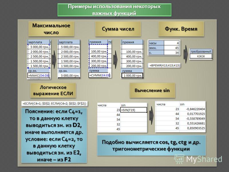 Самые простые и часто используемые Недавно используемые Основные пункты во вкладке Формулы Главного меню ФинансовыеФинансовые ЛогическиеЛогическиеТекстовыеТекстовыеМатематическиеМатематические