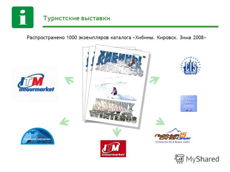 Туристские выставки Распространено 1000 экземпляров каталога «Хибины. Кировск. Зима 2008»