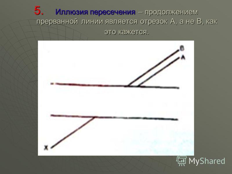 4. Иллюзия веера – параллельные линии под влиянием фона ближе к центру кажутся выпуклыми, а дальше от центра – вогнутыми.