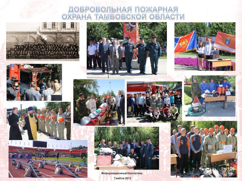 1 Информационный бюллетень Тамбов 2012