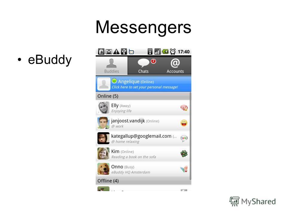 Messengers eBuddy