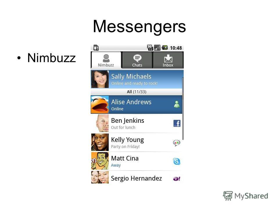 Messengers Nimbuzz