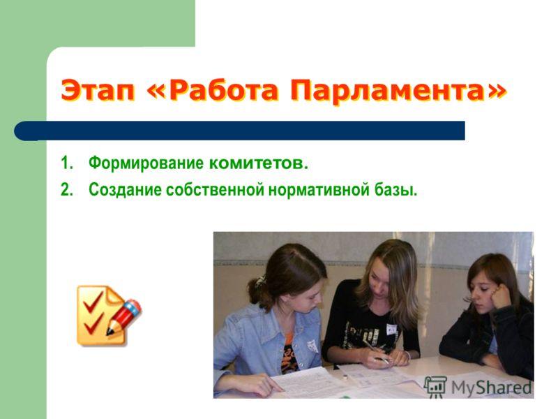 Законодательный орган Принятие проекта Конституции и атрибутов Демократической республики Ведение текущей законотворческой работы Правовая часть