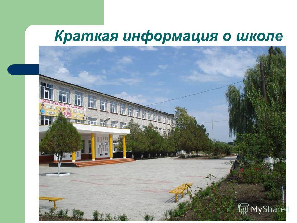 Краткая информация о школе