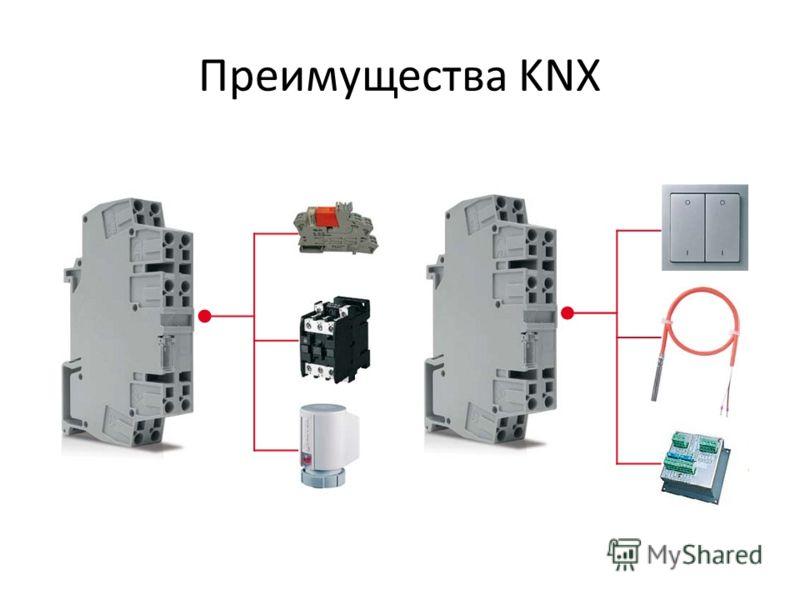 Преимущества KNX