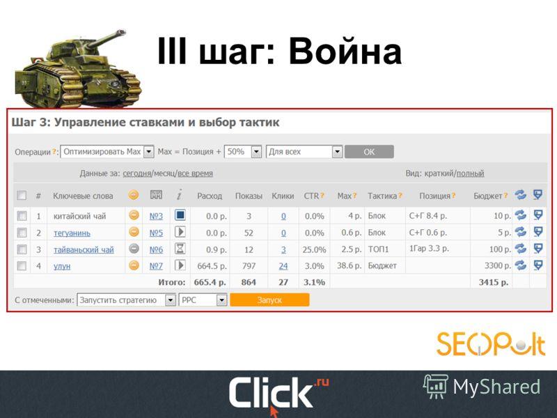 http://4.bp.blogspot.com/_6tVm-1Fsk- E/TPDXrTCiYOI/AAAAAAAAACA/d6T6a60 1gOc/s1600/Spongebob-spongebob- squarepants-1uncenssored.jpg III шаг: Война