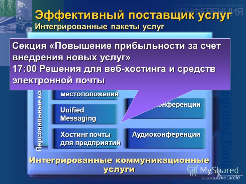 Network/Data Center Infrastructure Automated Operations Business Management Systems Business Process & Systems Integration Integrated Tools Эффективный поставщик услуг Интегрированные пакеты услуг Integrated Services Integrated Experiences Базовые се