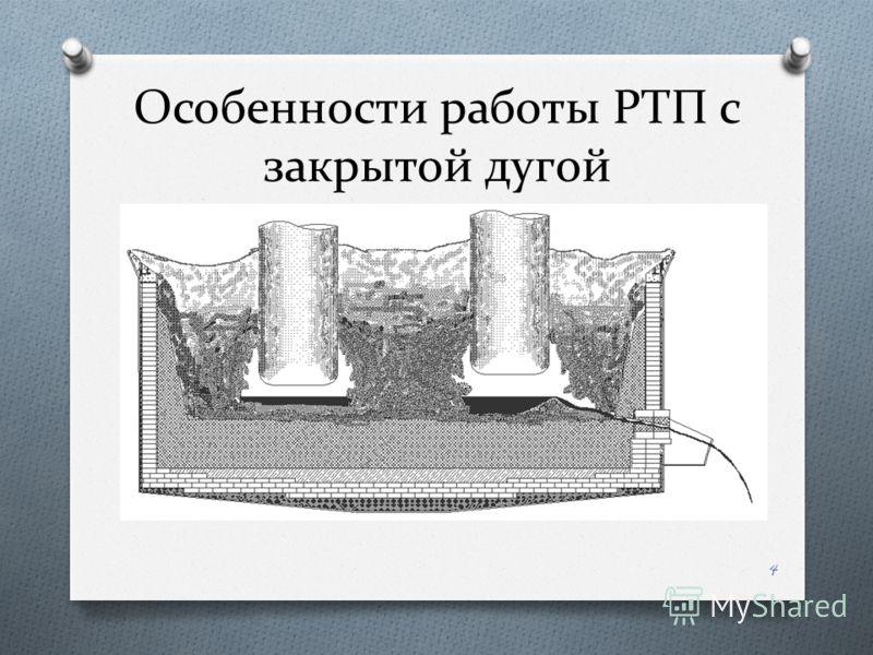 Особенности работы РТП с закрытой дугой 4