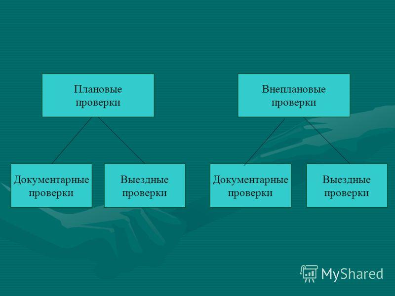 Плановые проверки Документарные проверки Выездные проверки Документарные проверки Выездные проверки Внеплановые проверки