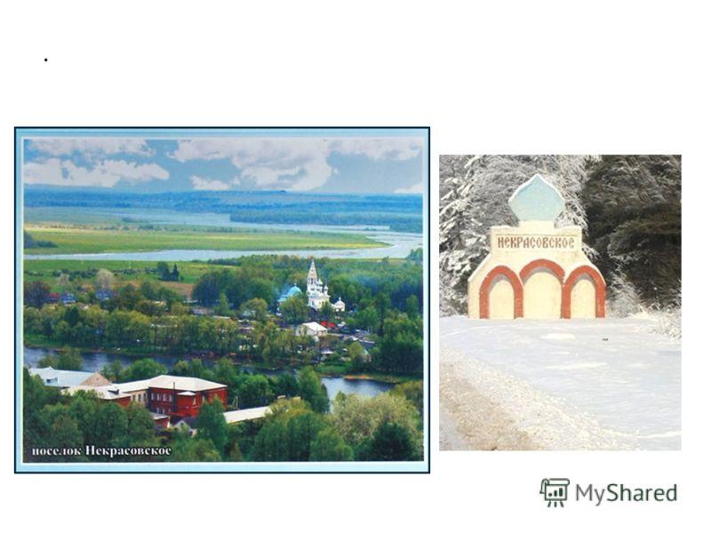 В честь Некрасова назван посёлок-райцентр Некрасовское (бывшие Большие Соли), в районе которого он провёл своё детство.