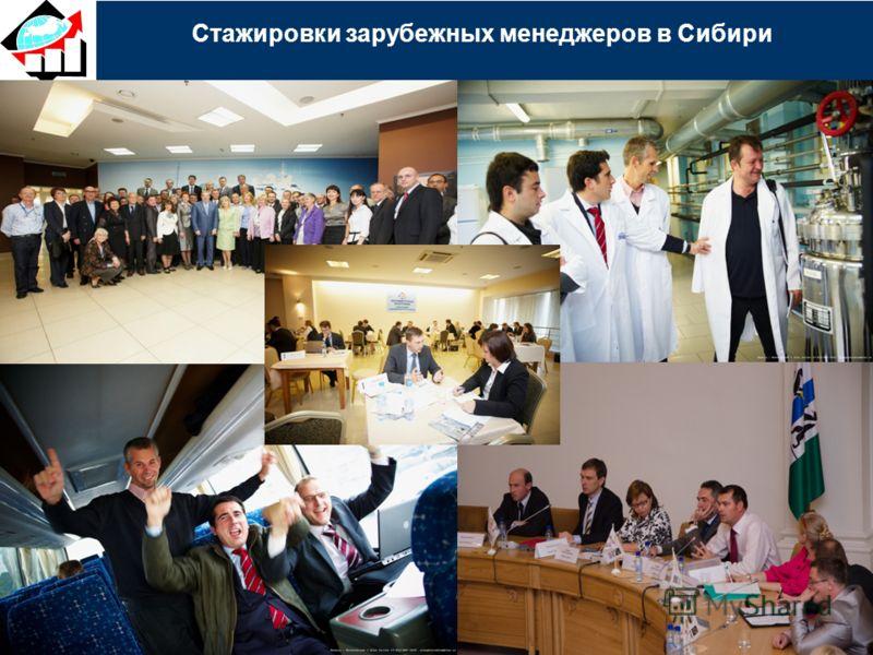 Стажировки зарубежных менеджеров в Сибири