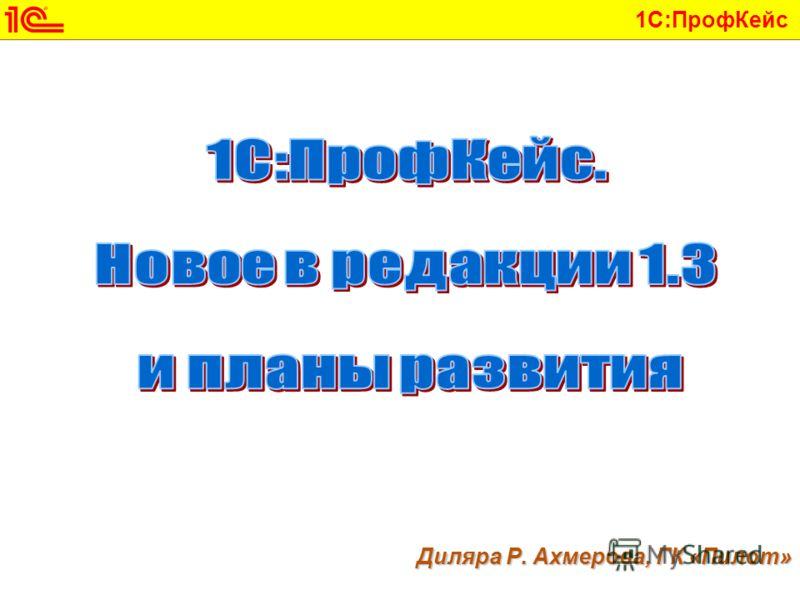 1С:ПрофКейс Диляра Р. Ахмерова, ГК «Пилот»