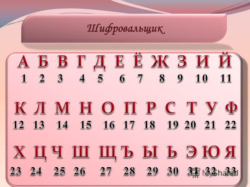 Шифровальщик