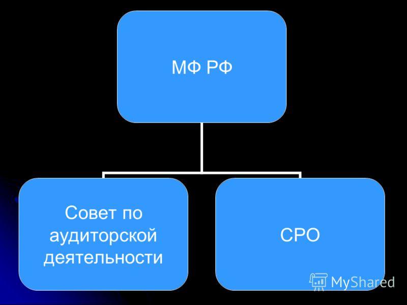 МФ РФ Совет по аудиторской деятельности СРО