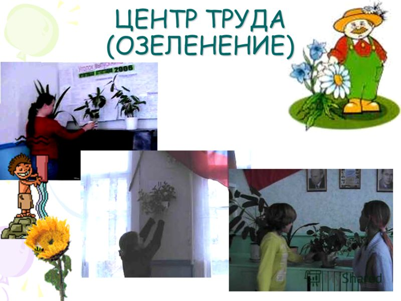 ЦЕНТР ТРУДА (ОЗЕЛЕНЕНИЕ)