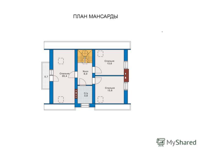 ПЛАН МАНСАРДЫ