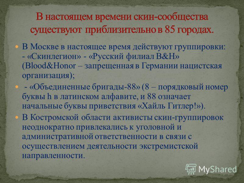 Народная национальная партия (ННП) Русское национальное единство (РНЕ) Движение против нелегальной иммиграции (ДПНИ) Славянский союз Народно-державная партия России