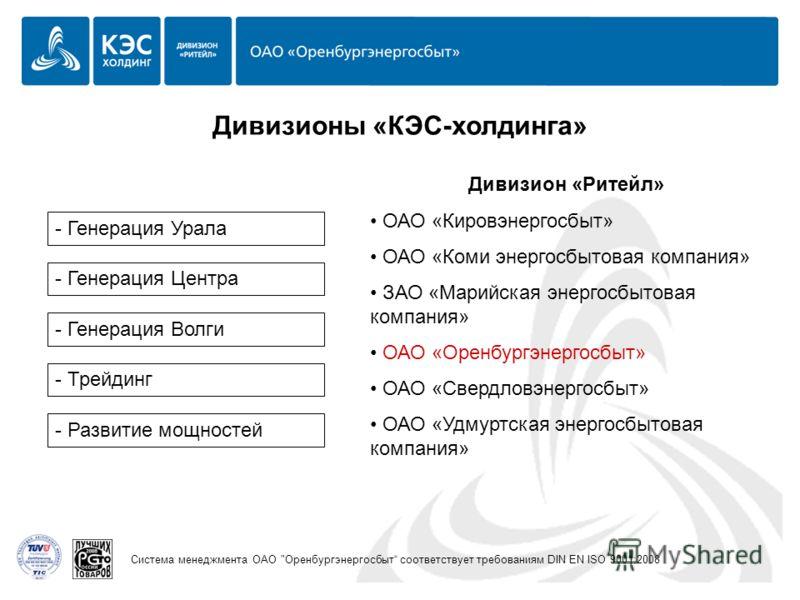 Система менеджмента ОАО