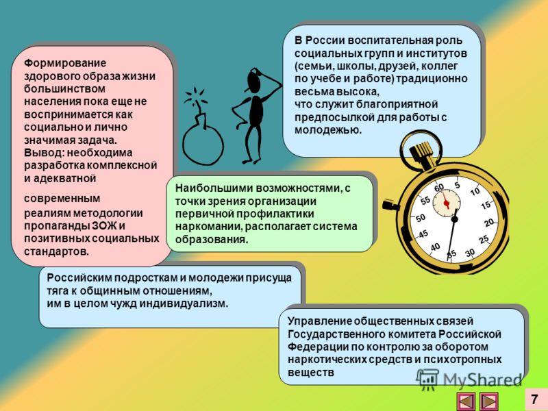 Российским подросткам и молодежи присуща тяга к общинным отношениям, им в целом чужд индивидуализм. Российским подросткам и молодежи присуща тяга к общинным отношениям, им в целом чужд индивидуализм. Управление общественных связей Государственного ко