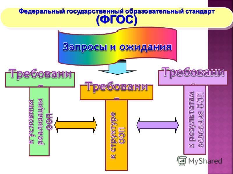 Федеральный государственный образовательный стандарт (ФГОС) (ФГОС)