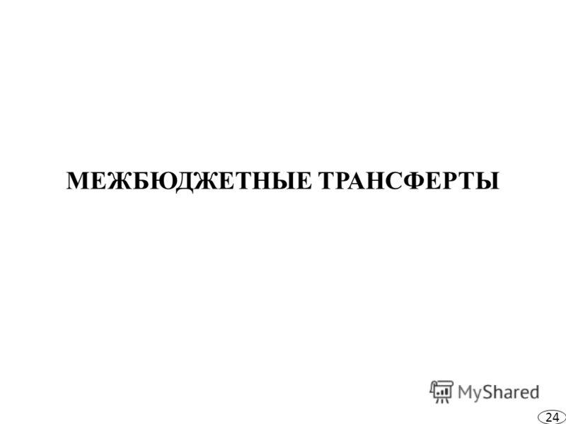 МЕЖБЮДЖЕТНЫЕ ТРАНСФЕРТЫ 24