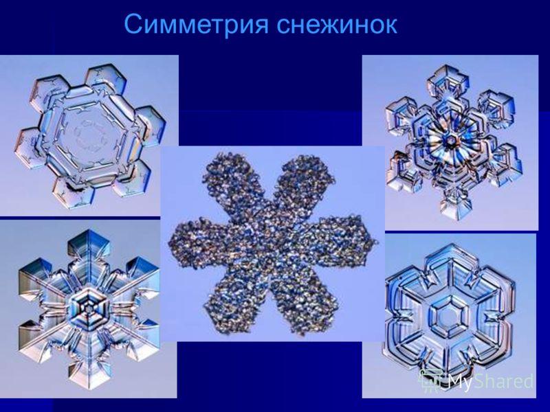 Иоганн Кеплер отметил, что все снежинки имеют отметил, что все снежинки имеют 6 граней и одну ось симметрии; проанализировал симметрию снежинок. проанализировал симметрию снежинок. ИЗ ИСТОРИИ ИЗУЧЕНИЯ СНЕЖИНОК